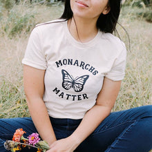 "Load image into Gallery viewer, ""Monarchs Matter"" Butterfly Advocacy Tee"