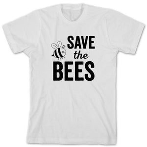 """Save The Bees"" Bumble Bee Graphic Tee"