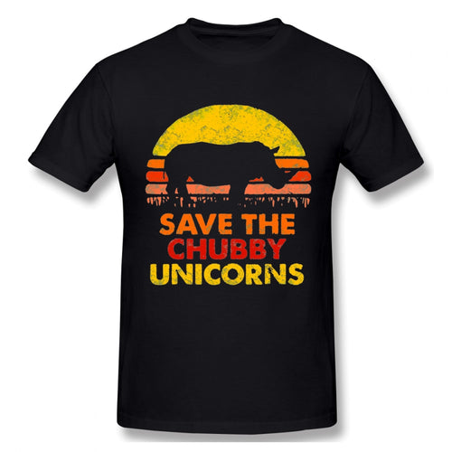 Save The Chubby Unicorn Rhino Tee