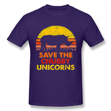 Load image into Gallery viewer, Save the Chubby Unicorn Tee