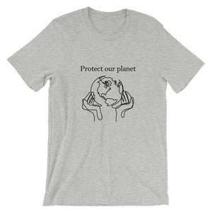 """Protect Our Planet"" Future Is In Our Hands 90s Aesthetic Graphic Tee"