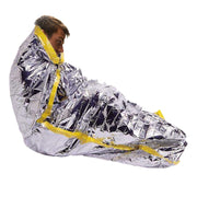 "Emergency Mylar Solar Sleeping Bag 84"" x 36"""