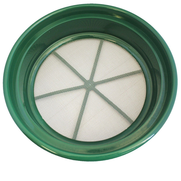 "SE GP2-112 Patented Stackable 13-1/4"" Sifting Pan, Mesh Size 1/12"""