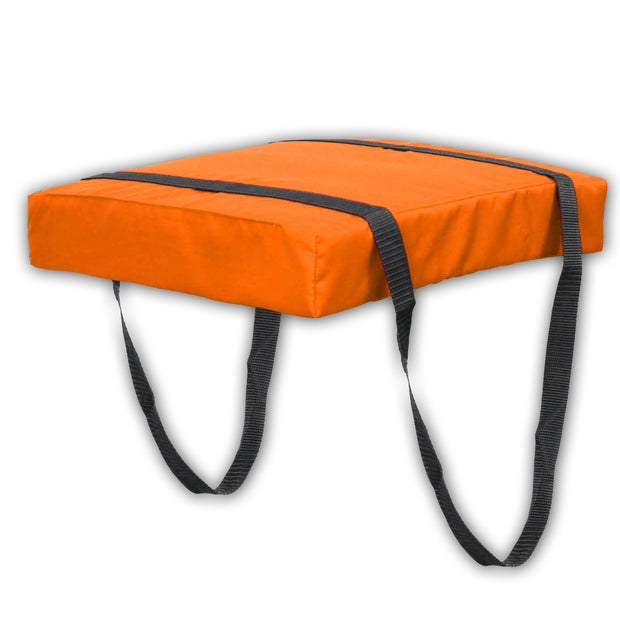 Bradley Type IV Boat Cushion USCG Approved Throwable Flotation Device - Neon Orange