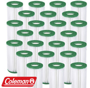 24 Pack Coleman Type III A/C Filter Cartridge for 1000 & 1500 GPH Filter Pumps