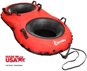 Ultimate Towable Snow Tube Sled | Inflatable Sledding Tube | Made In USA