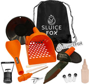 Sluice Fox Beach Gold Digger Set | Sand Sifter Scoop & Probe | Black Sand Magnet