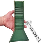 Sluice Fox Rubberized Micro Pocket Sluice Box for Gold Prospecting