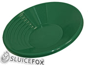Sluice Fox 15 Inch Polypropylene Gold Pan with Dual Riffles