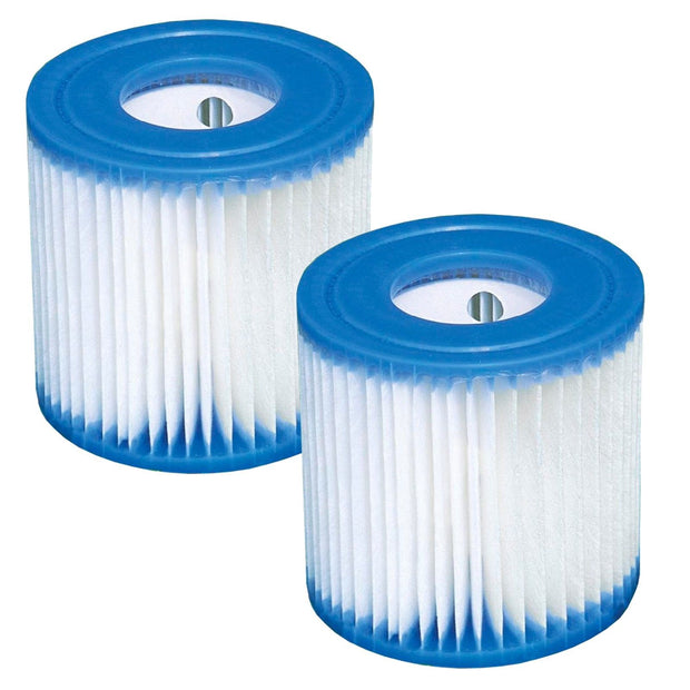 Intex Type H Filter Cartridge for Above Ground Swimming Pool Pumps 2 Pack