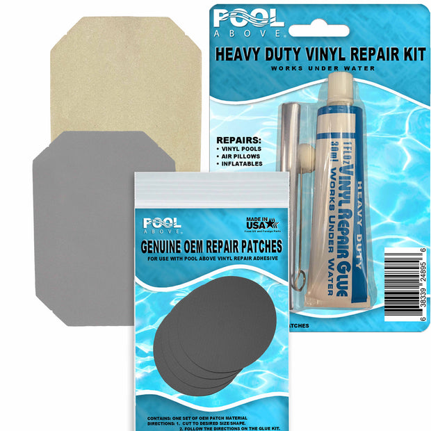 Vinyl Repair Patch Glue Kit for Inflatable Supreme Dura Beam Airbed