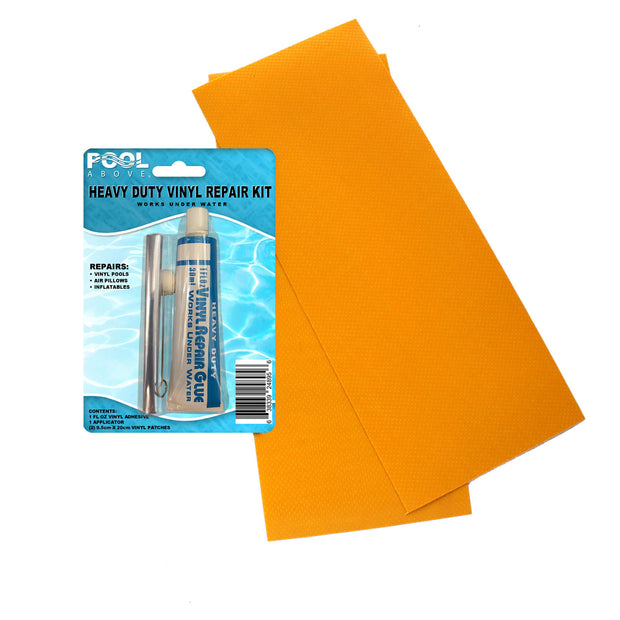 Heavy Duty Vinyl Repair Patch Kit for Inflatables Boat Raft Kayak Air Beds
