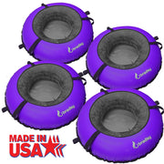 4 Pack Bradley River Tube with Linking Heavy Duty Cover