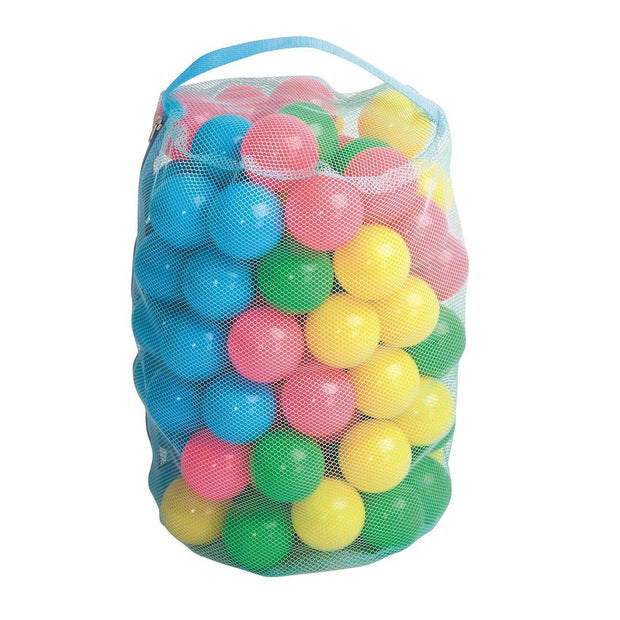 Bestway 50 Fun Colored Balls for Inflatable Jump O Lene Bouncer Ball Pits