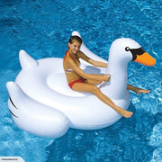 Intex Mega Swan Island Inflatable Swimming Pool Lounge Relaxation Oasis