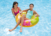 3 Pack Intex Transparent Tube Inflatable Swimming Pool Float Ring Raft