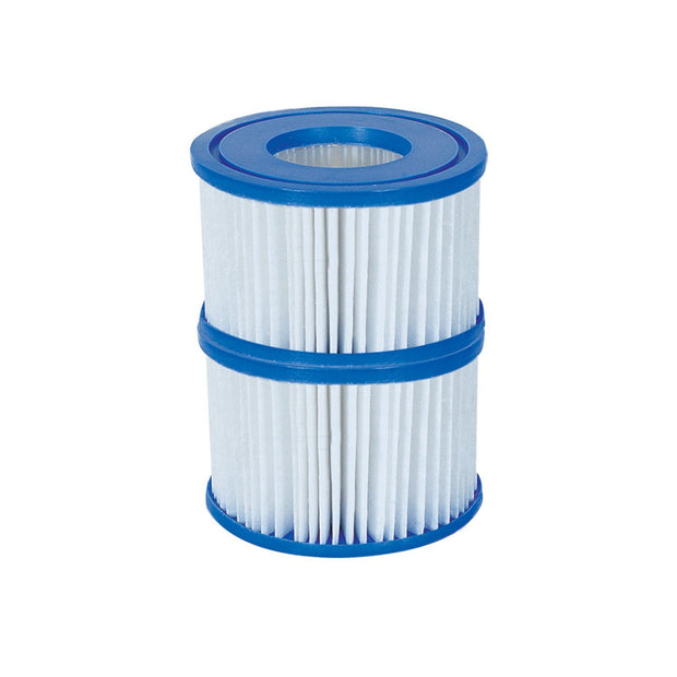 Bestway Type VI Spa Filter Cartridge for Lay-Z-Spa Twin Pack 58323