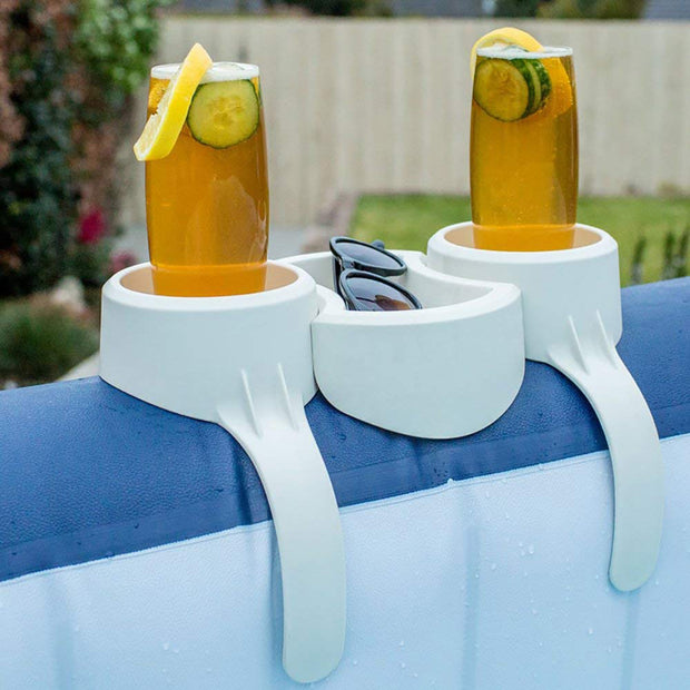 2 Pack Bestway SaluSpa Drinks Holder and Tray