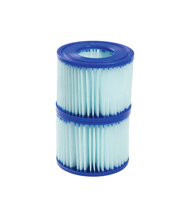 Bestway 58477E SaluSpa Antimicrobial Antibacterial Type VI Filter Cartridges