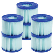 Bestway SaluSpa Antimicrobial Antibacterial Type VI Filter Cartridges 6 Pack