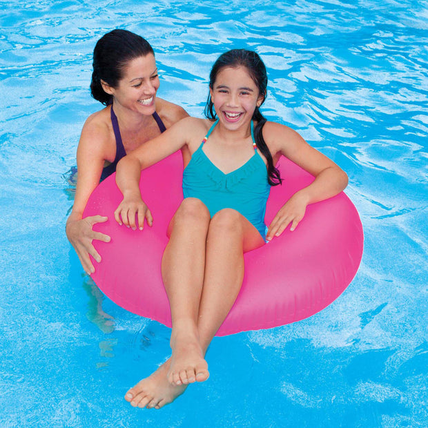 "Intex Frost Tube Inflatable Sturdy Swim Pool 36"" (2-Pack Assorted )"