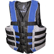 Bradley Fully Enclosed Deluxe 4-Buckle Adult Life Jacket Vest