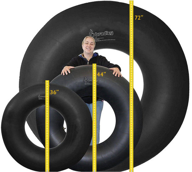 Heavy Duty Rubber Snow Tube | River Rafting, Sledding Float | Pool Closing Inner Tube | Truck Inner Tubes