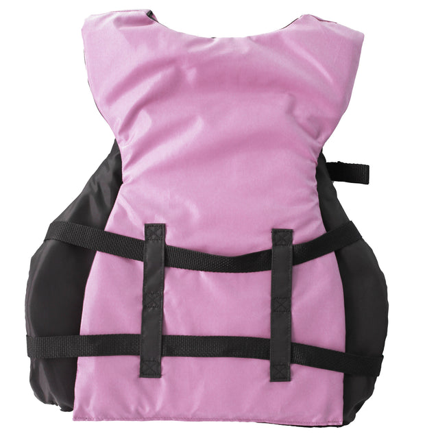 2 Pack Women's Adult Life Jacket PFD Type III Coast Guard Ski Vest Ladies Pink