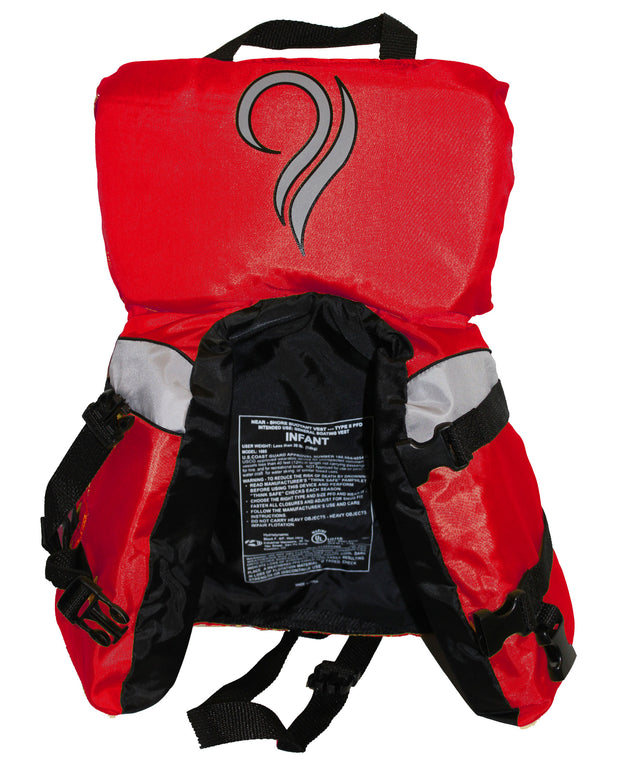 Bradley Infant Baby Life Jacket Vest | US Coast Guard Type III High Visibility
