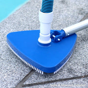 Weighted Vinyl Liner Pool Triangular Vaccum Head