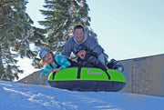 "Deluxe Snow Tube | 60"" Heavy Duty Green Cover 