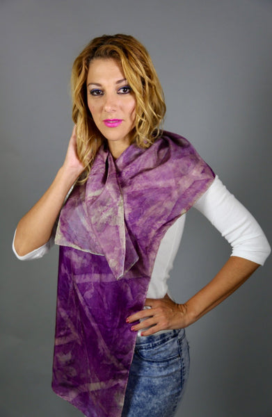SALE Lightweight Silk habotai  Scarf