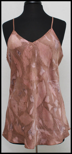 Rose Gold Charmeuse Camisole