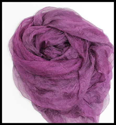 PURPLE MARGILAN SILK