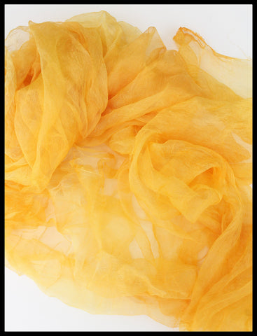 YELLOW MARGILAN SILK
