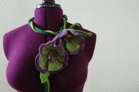 Felt ornaments/ necklace