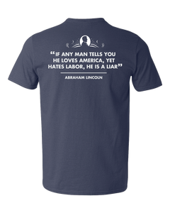Limited Edition - Honest Abe Short Sleeve Tee