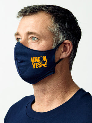 """UNION YES"" Face Mask - 2 pack"
