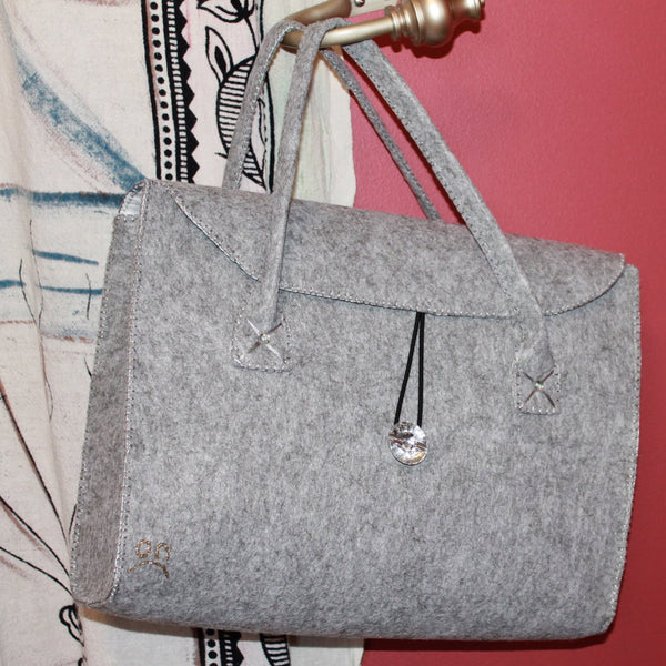 Felt Ultralight Unik - Silver Gray (Free shipping in Canada & to USA, HST Included) - ON Bags and Patiks
