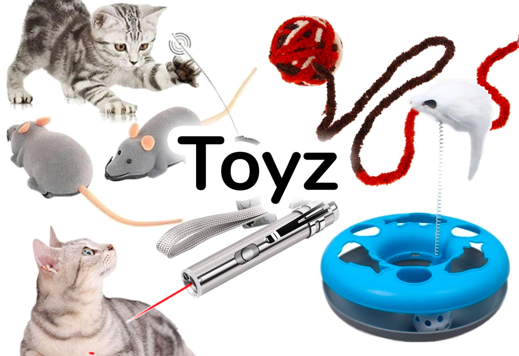 Toyz - The Best Cat Toys online