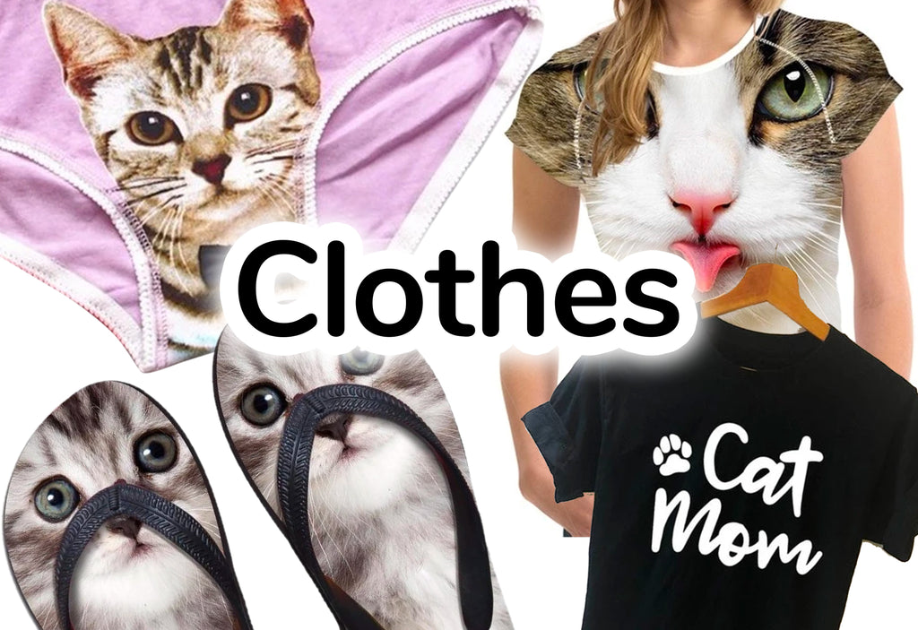 Cat Lover's Clothes - Cat Themed Apparel