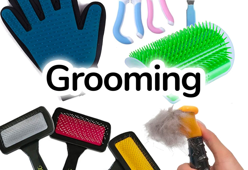 Cat Grooming Products Nail Clippers, Combs & Brushes - CatToyz