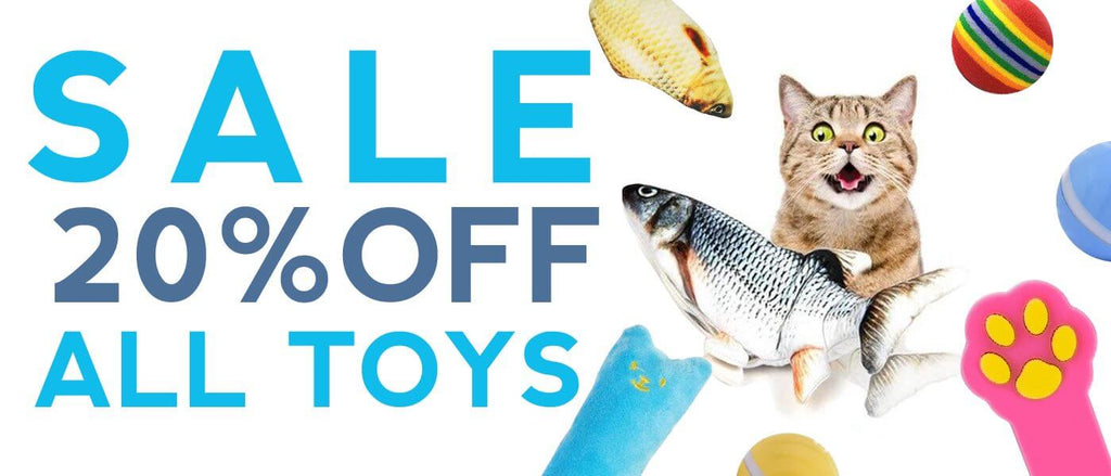SALE!  20% OFF ALL TOYS! - The Best Cat Toys Online