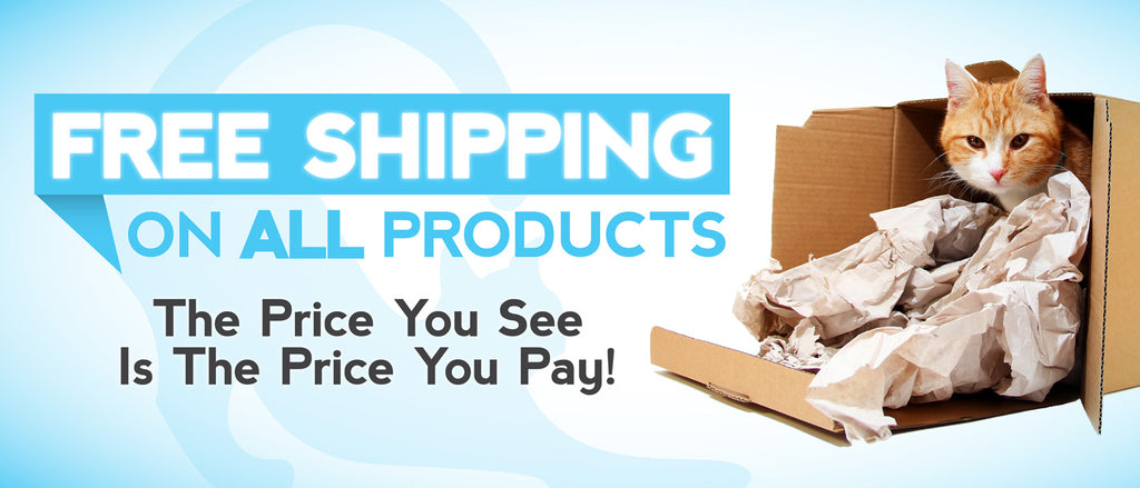 Free Shipping On ALL Products | CatToyz.com | Shop Cat Toys, Clothes, and Grooming Supplies