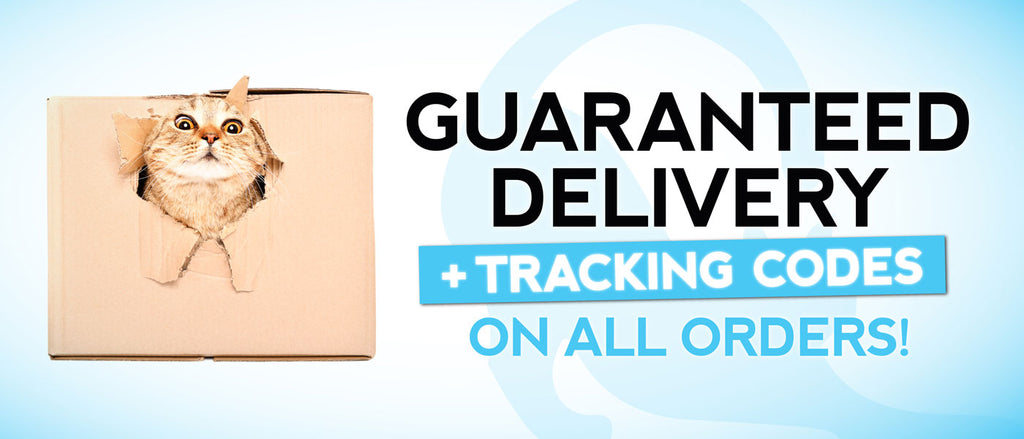 Guaranteed Delivery & Tracking On All Orders|CatToyz.com|Shop Cat Toys, Clothes, and Grooming Supplies