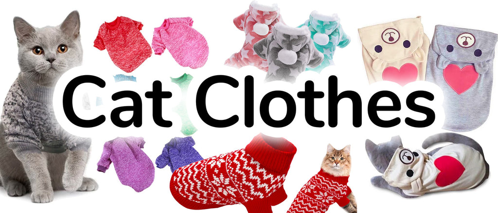 Cat Clothes - Stylish Apparel and Outfits for your Cat|CatToyz.com|Shop Cat Toys, Clothes, and Grooming Supplies