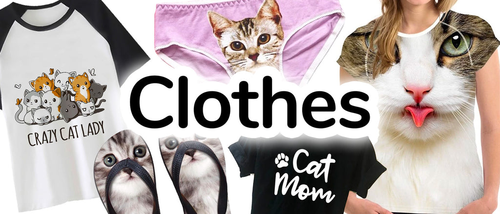 Cat Lover's Clothes - Cat-Themed Apparel | CatToyz.com | Shop Cat Toys, Clothes, and Grooming Supplies