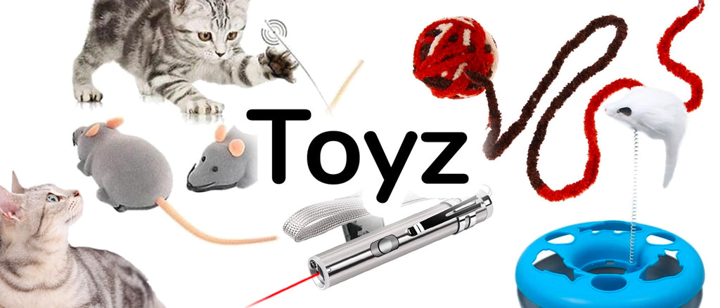 Toyz - Toys for your Cat or Kitten | CatToyz.com | Shop Cat Toys, Clothes, and Grooming Supplies
