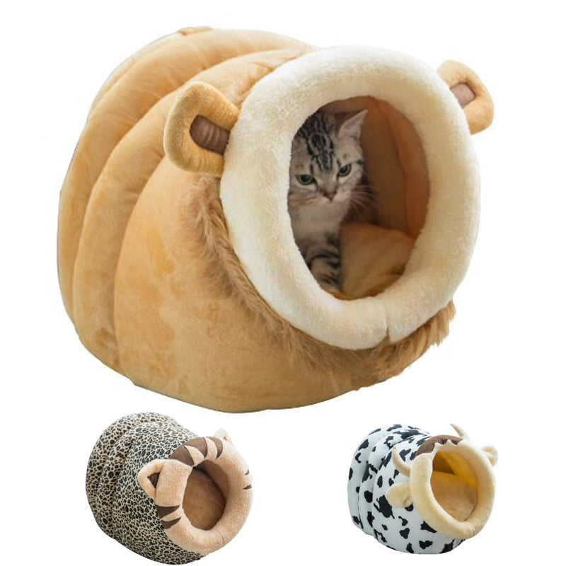 Animal Theme Cat Cave Bed  | CatToyz.com | Shop Cat Toys, Clothes, and Grooming Supplies