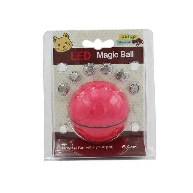 Automatic Rolling Ball for Cats ** As Seen on TV ** Red-Button Battery | CatToyz.com | Shop Cat Toys, Clothes, and Grooming Supplies